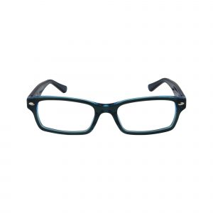 1530 Blue Glasses - Front View