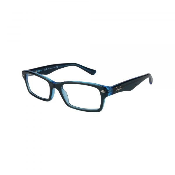 1530 Blue Glasses - Side View