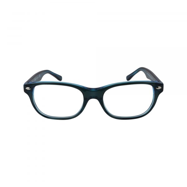 1555 Blue Glasses - Front View