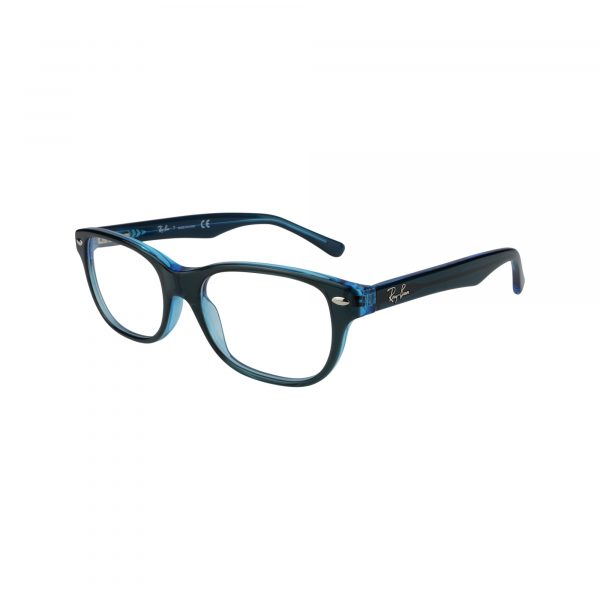 1555 Blue Glasses - Side View