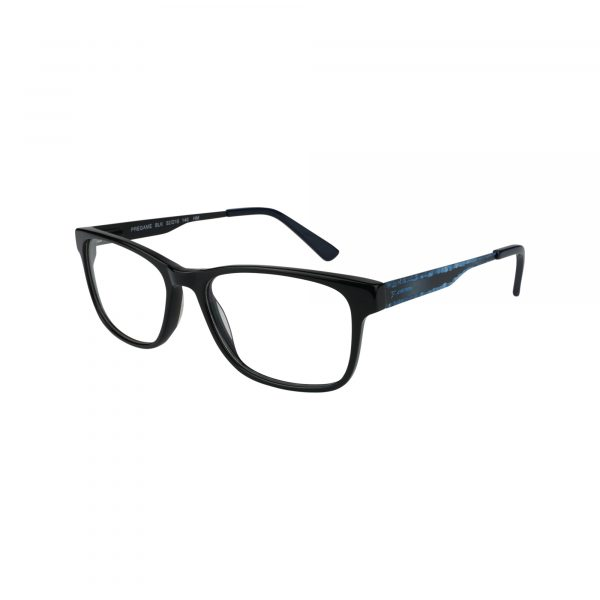 Pregame Black Glasses - Side View