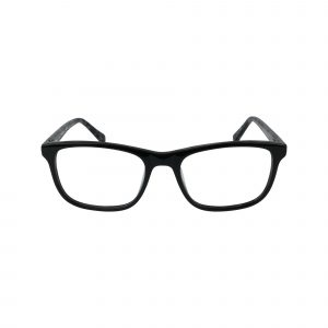 135 Black Glasses - Front View