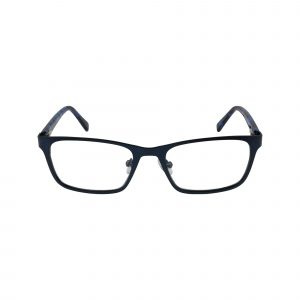 136 Blue Glasses - Front View