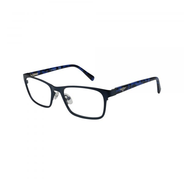 136 Blue Glasses - Side View