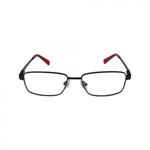 134 Black Glasses - Front View