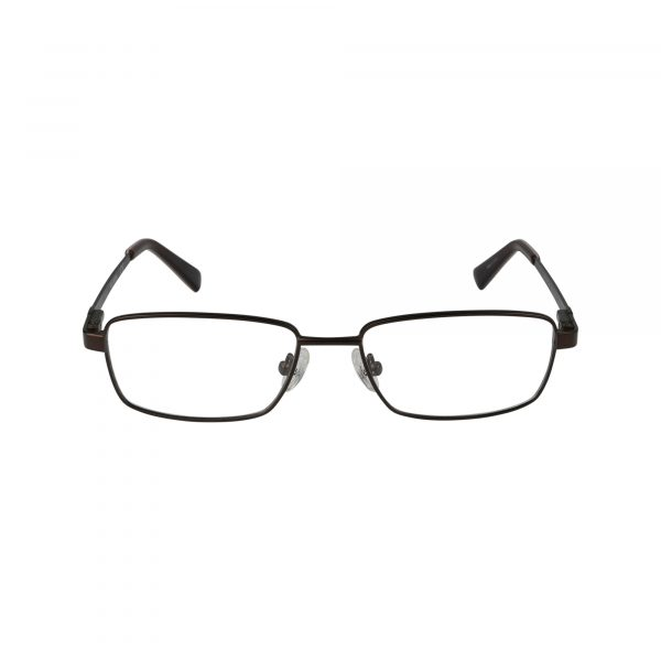 134 Brown Glasses - Front View