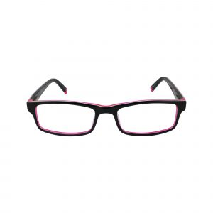 R410 Pink Glasses - Front View