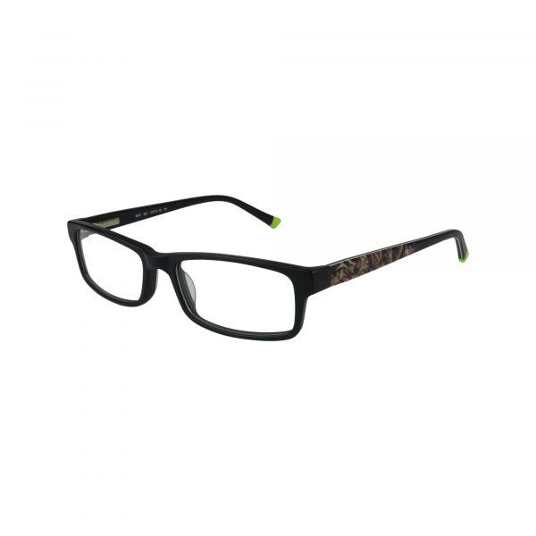 R410 Black Glasses - Side View