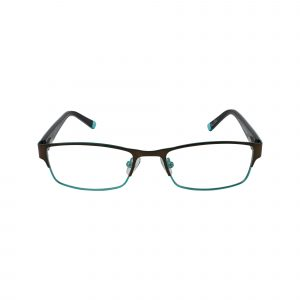 R411 Brown Glasses - Front View