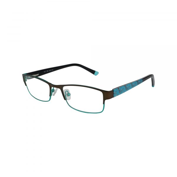 R411 Brown Glasses - Side View