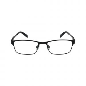 R708 Black Glasses - Front View