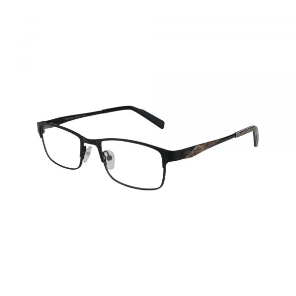 R708 Black Glasses - Side View