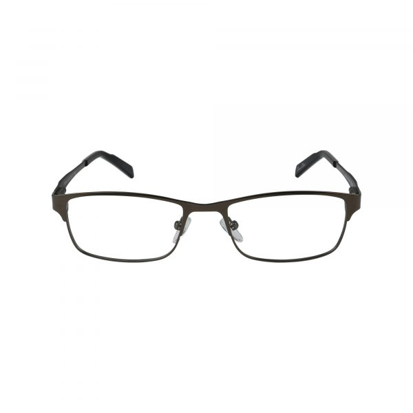 R708 Gunmetal Glasses - Front View