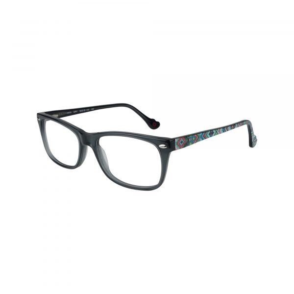 HK53 Gunmetal Glasses - Side View