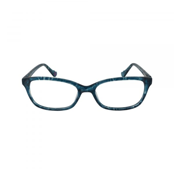 HK74 Blue Glasses - Front View