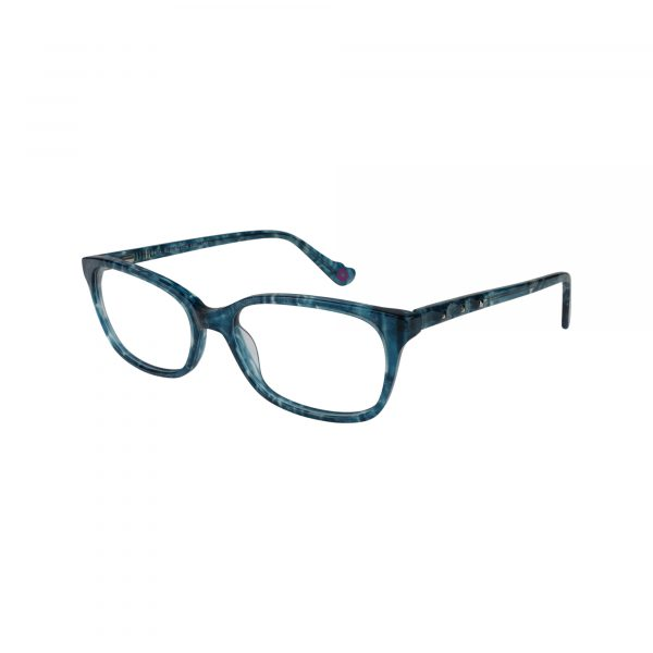 HK74 Blue Glasses - Side View