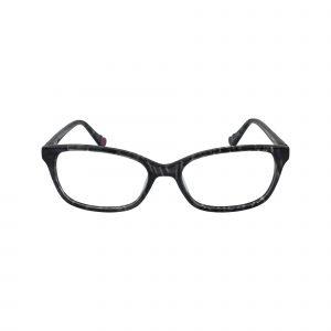 HK74 Gunmetal Glasses - Front View