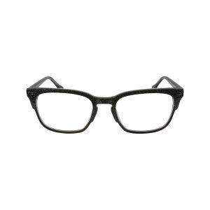 HK70 Black Glasses - Front View