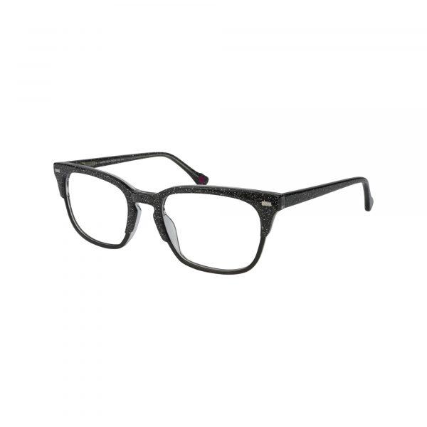 HK70 Black Glasses - Side View