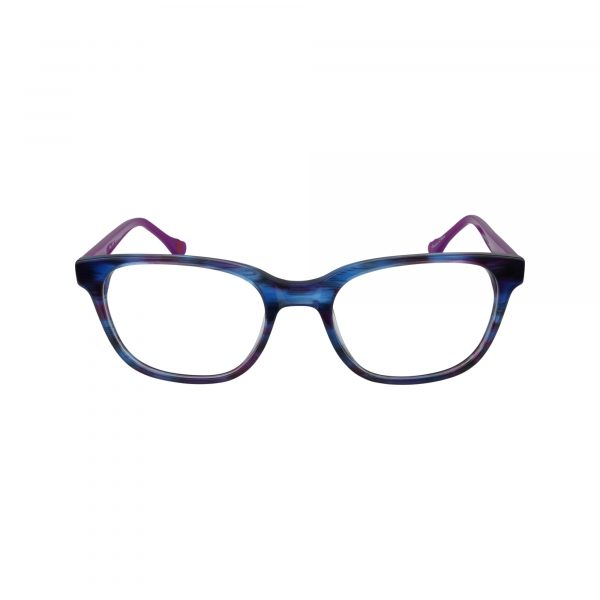 HK65 Purple Glasses - Front View