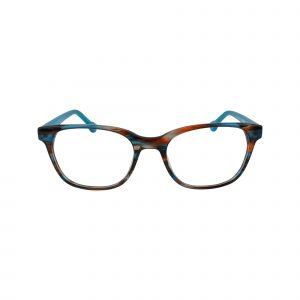 HK65 Blue Glasses - Front View