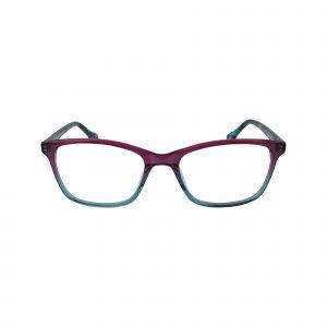 HK92 Blue Glasses - Front View