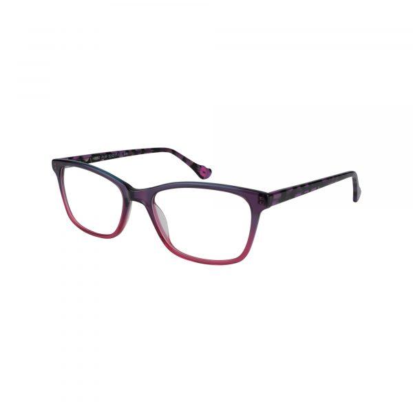 HK92 Purple Glasses - Side View