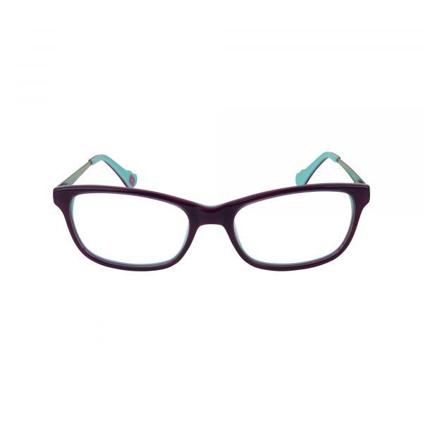 HK76 Purple Glasses - Front View
