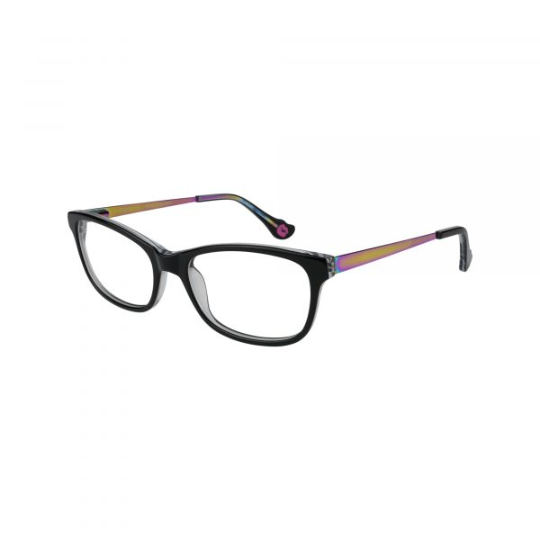 HK76 Black Glasses - Side View