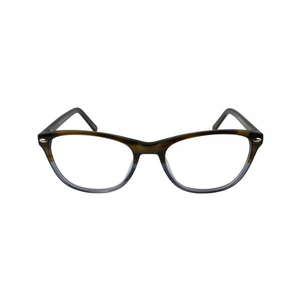 470 Brown Glasses - Front View