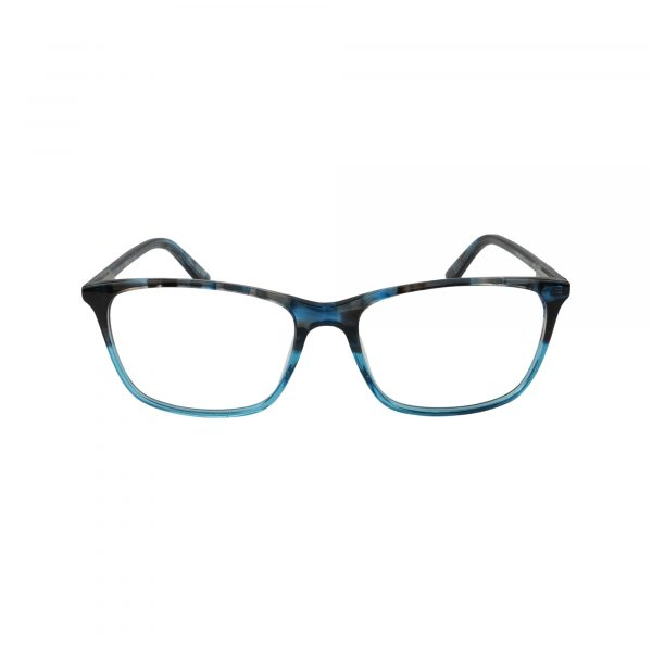 454 Blue Glasses - Front View