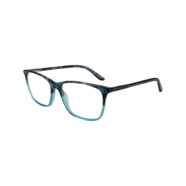 454 Blue Glasses - Side View