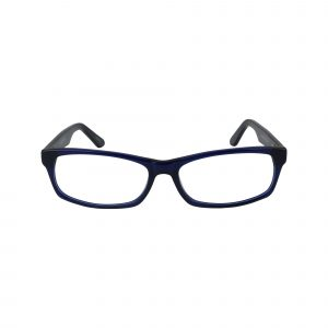 402 Blue Glasses - Front View