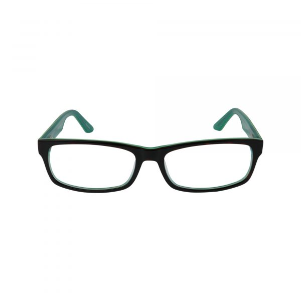 402 Green Glasses - Front View