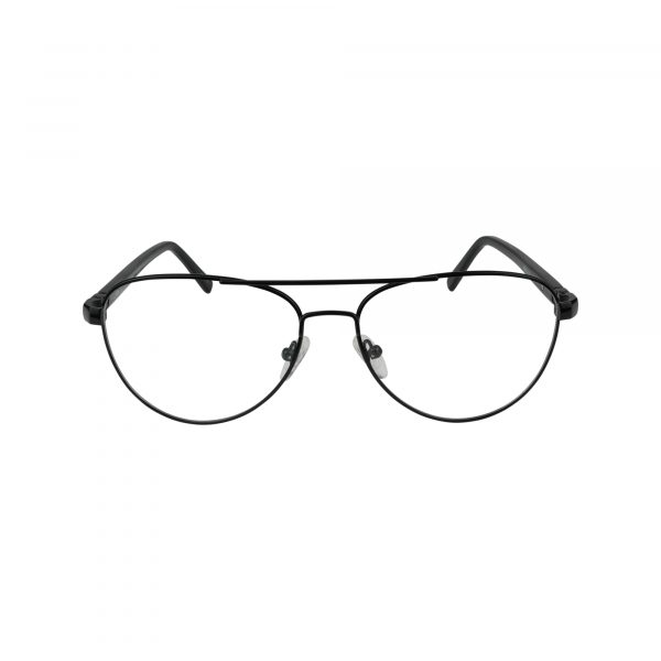 670 Black Glasses - Front View