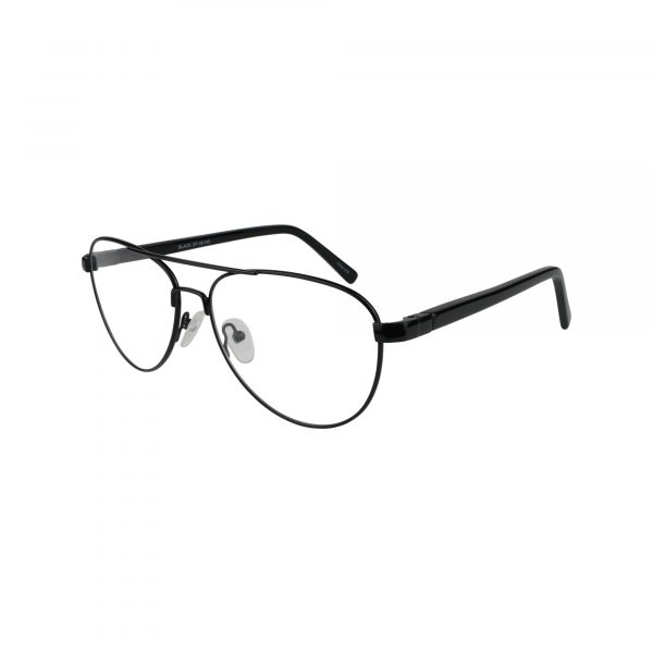 670 Black Glasses - Side View