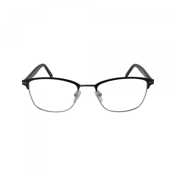 654 Black Glasses - Front View