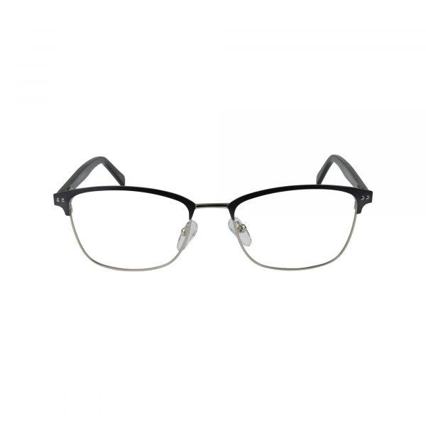 654 Gunmetal Glasses - Front View