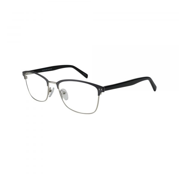 654 Gunmetal Glasses - Side View