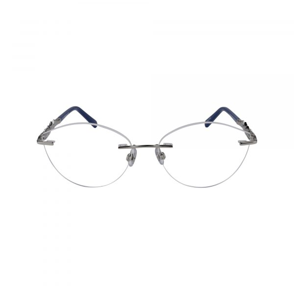 5346 Silver Glasses - Front View