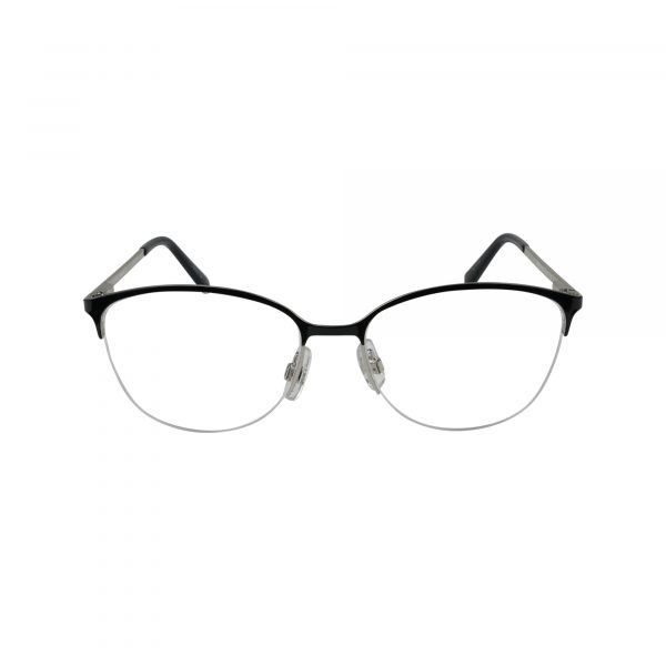5296 Black Glasses - Front View