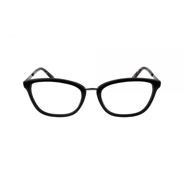 Harper Black Glasses - Front View
