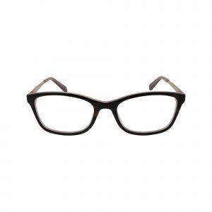 Caterina Red Glasses - Front View