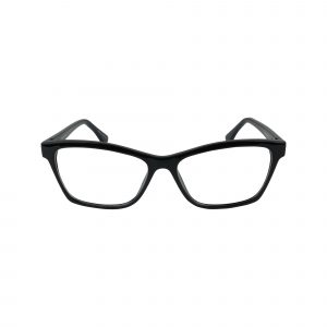 74 Black Glasses - Front View