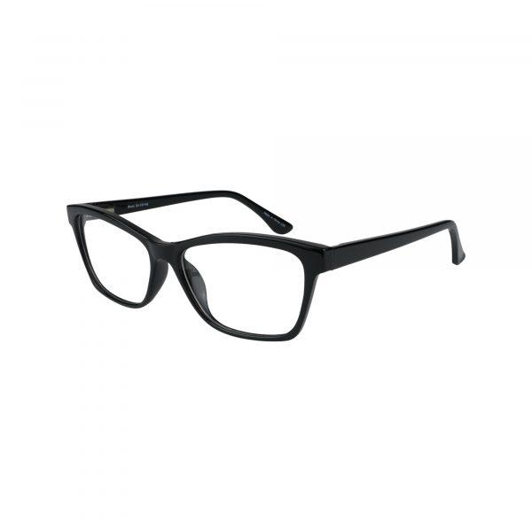 74 Black Glasses - Side View