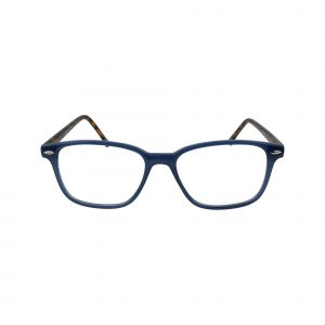 70 Blue Glasses - Front View