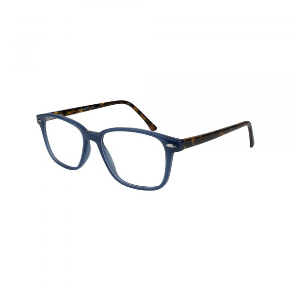 70 Blue Glasses - Side View