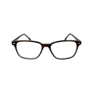 70 Brown Glasses - Front View