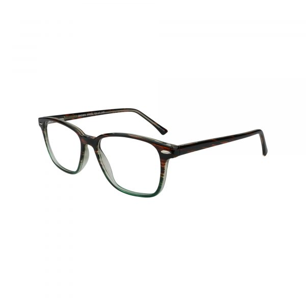 70 Brown Glasses - Side View