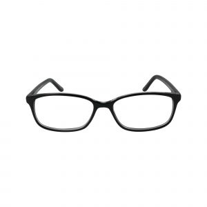 61 Black Glasses - Front View